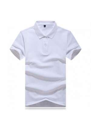 反面双纱POLO衫T恤